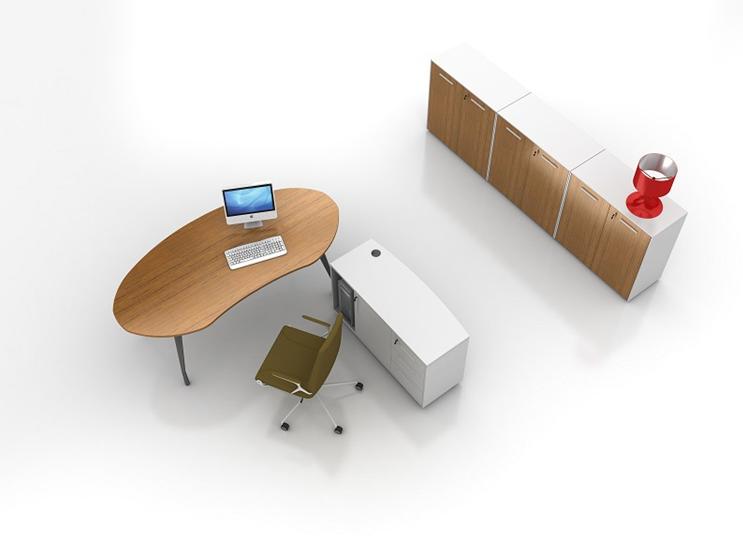 办公桌-板式经理桌--FW_JLZ_002172